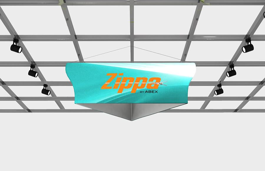 Zippa Hanging Signs - Replacement Graphics Tapered Triangle