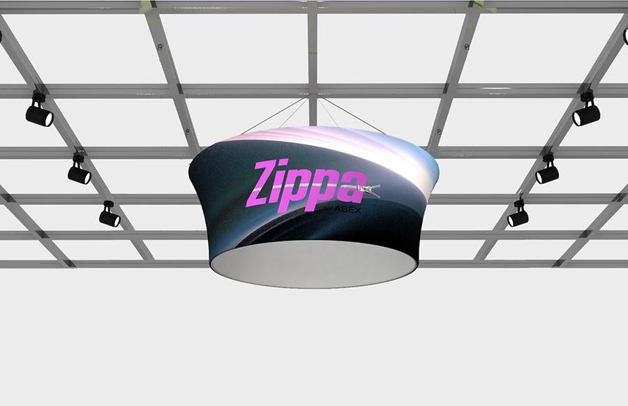 Zippa Hanging Signs - Replacement Graphics Tapered Circle