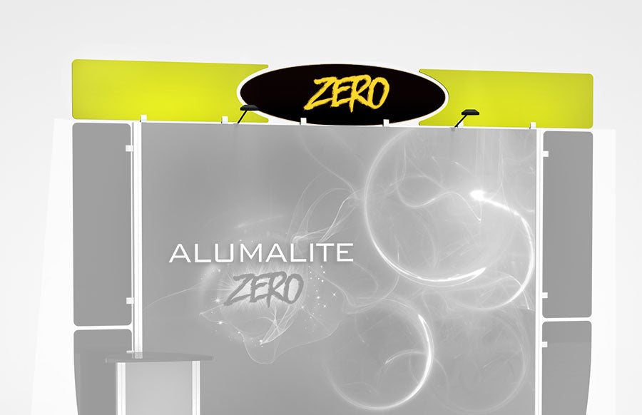 10 Foot Alumalite Zero Header Graphic Replacement Set