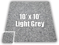 Premium SoftCarpets - Light Grey