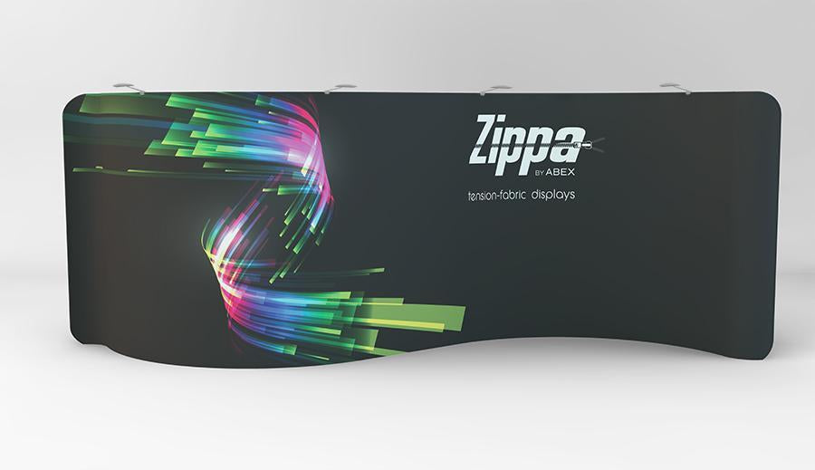 Zippa 20ft Serpentine Tension Fabric Display
