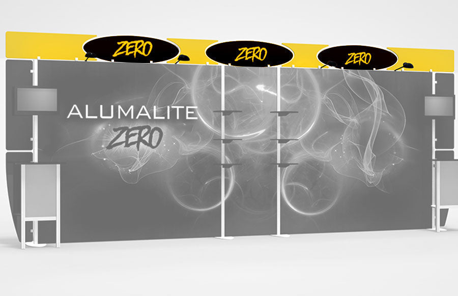 20 Foot Alumalite Zero Header Graphic Replacement Set