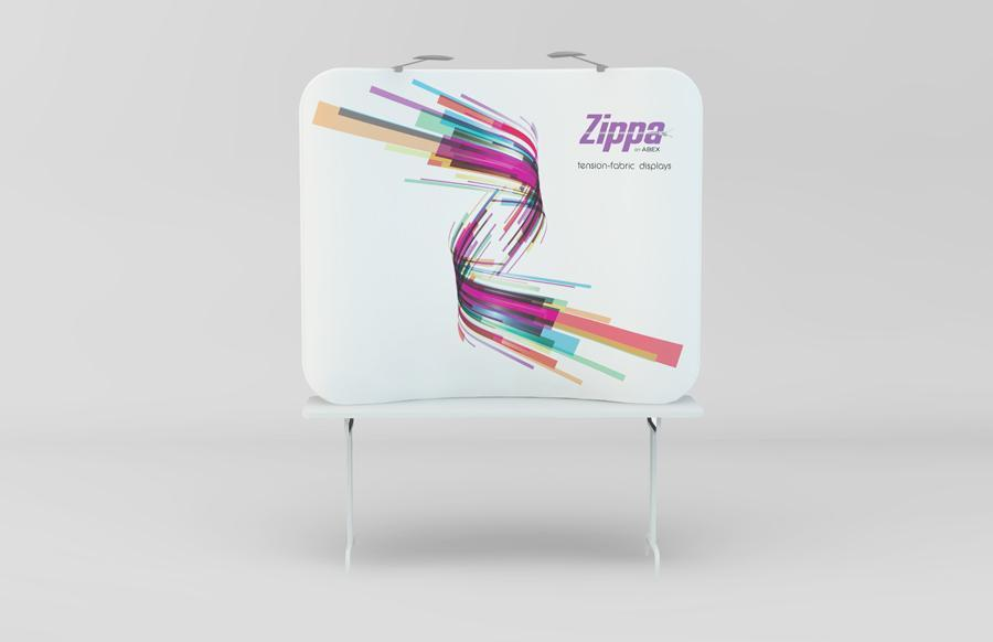 Zippa 6ft Tabletop Tension Fabric Display