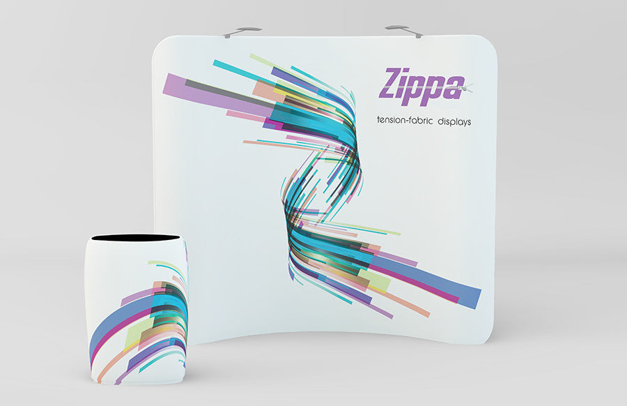 Zippa 8ft Curve Replacement Graphic