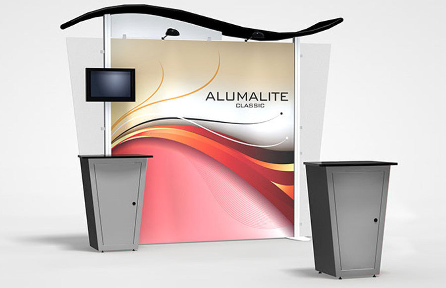 10 Ft Alumalite Backwall Replacement Graphic Panels