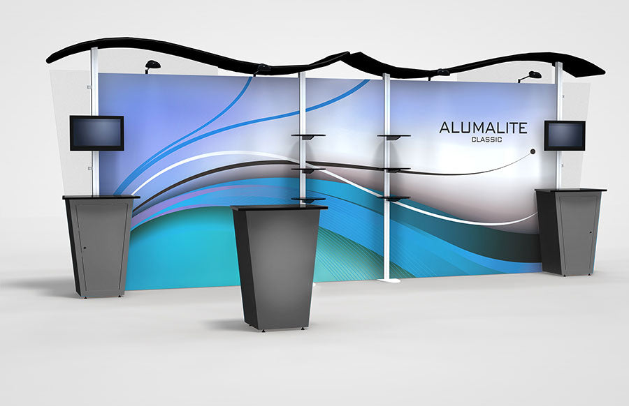 20 Ft Alumalite Backwall Replacement Graphic Panels