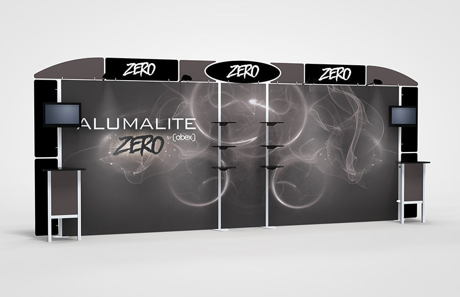 20 Foot Alumalite Zero Hybrid Display AZ10