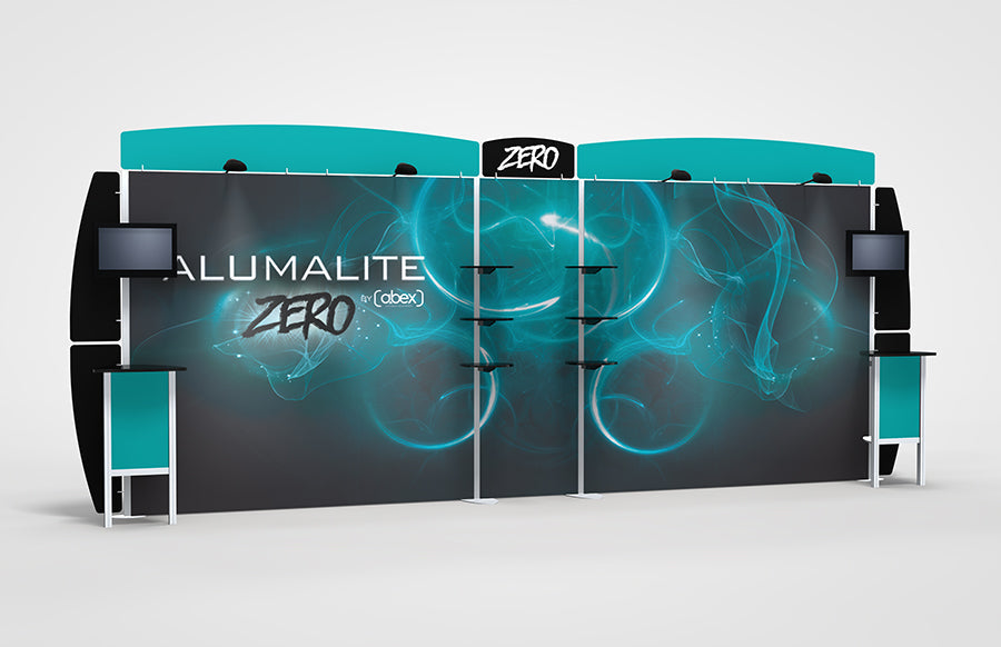 20 Foot Alumalite Zero Hybrid Display AZ11