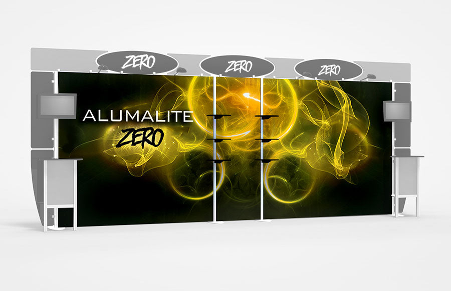 20 Foot Alumalite Zero Full Backwall Replacement Graphic