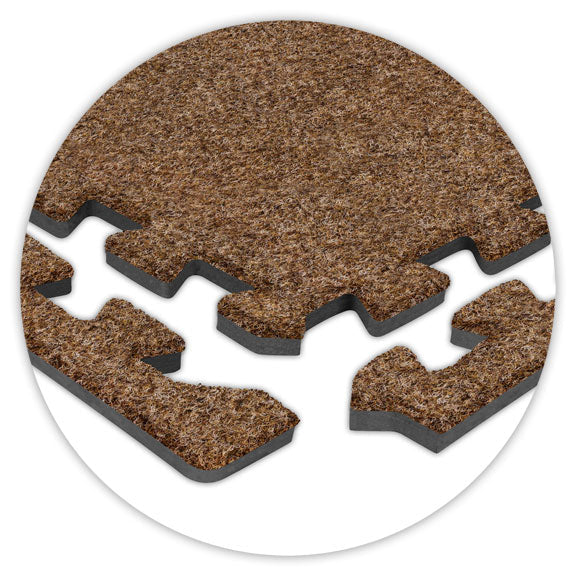 Premium SoftCarpets - Light Brown