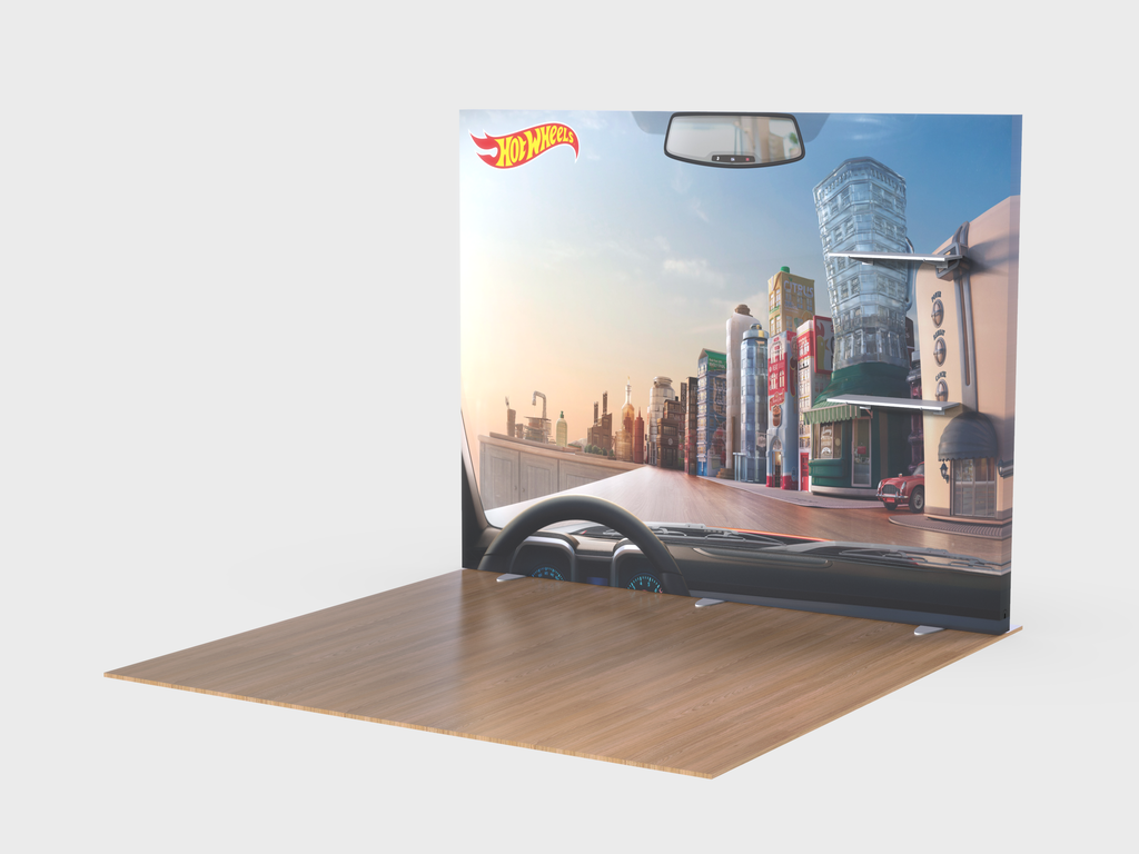 Lumiwall / Elite Hybrid 10ft Display Kit 3