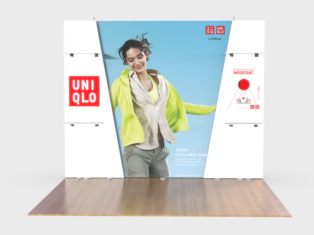 Lumiwall / Elite Hybrid 10ft Display Kit 5