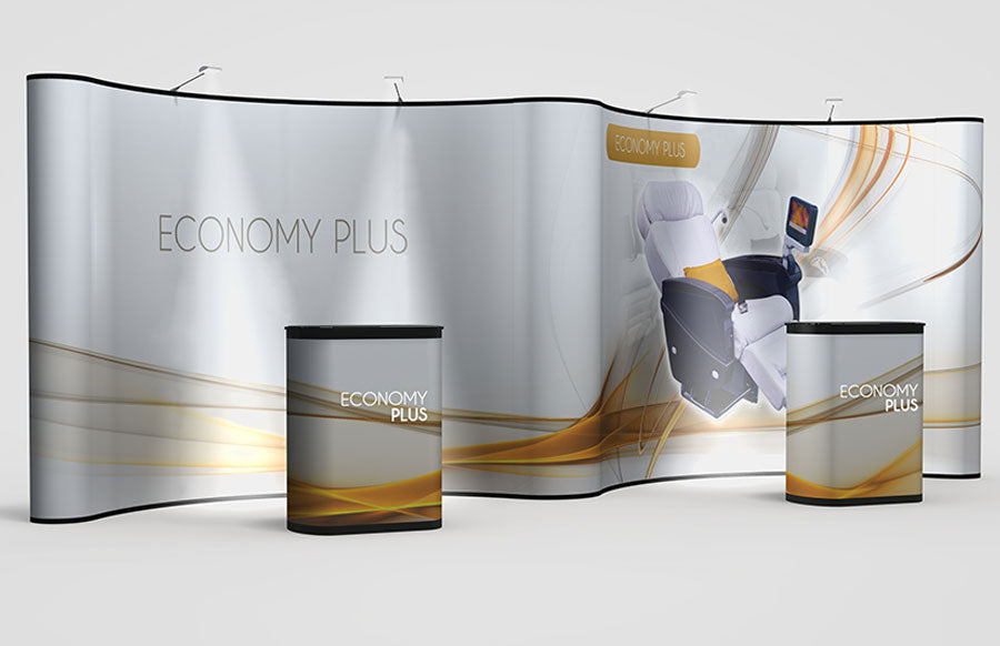 20 Foot Abex Economy Plus Gullwing Full Graphic Replacement Set