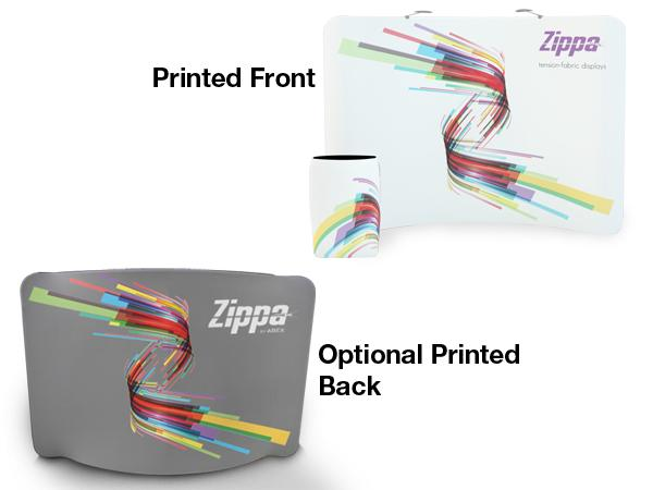 Zippa 8ft Tabletop Replacement Graphic