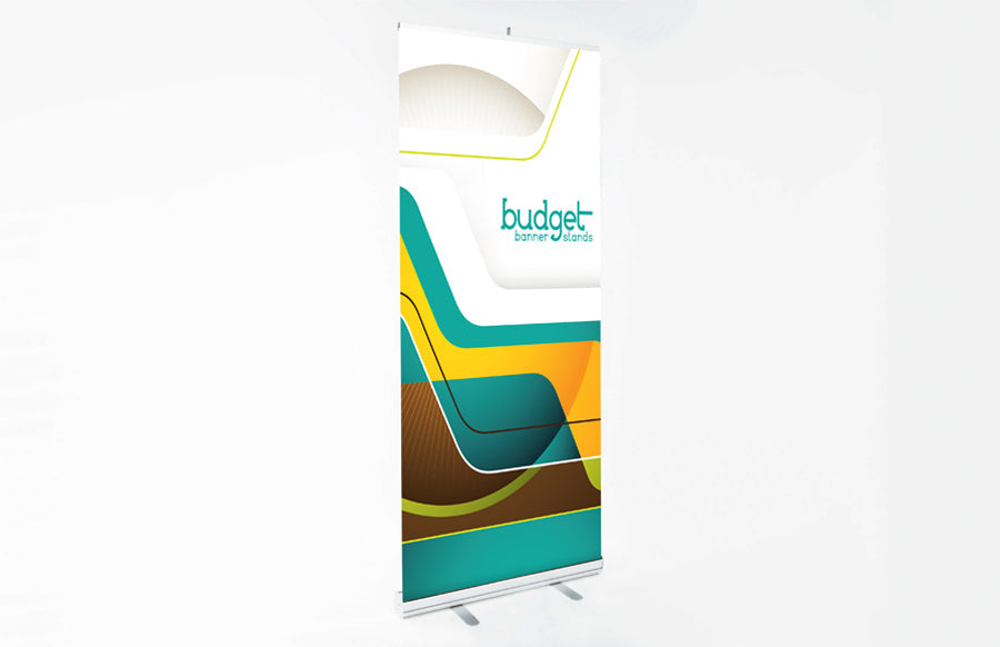 "Budget 850 Retractable Bannerstand 33"" x 79"" Replacement Graphic"