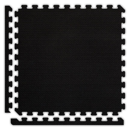 "Jumbo Reversible SoftFloors 2' x 2' x 7/8"" - Black/Grey"