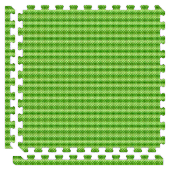 "Jumbo Reversible SoftFloors 2' x 2' x 7/8"" - Green/Lime Green"