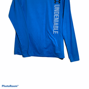 Primary Photo - BRAND: UNDER ARMOUR STYLE: ATHLETIC TOP COLOR: BLUE SIZE: M SKU: 256-25678-5950