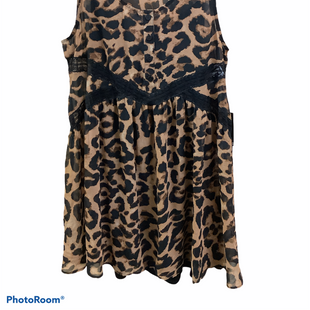 Primary Photo - BRAND: EXPRESS STYLE: DRESS SHORT SLEEVELESS COLOR: LEOPARD PRINT SIZE: M SKU: 256-25612-66562