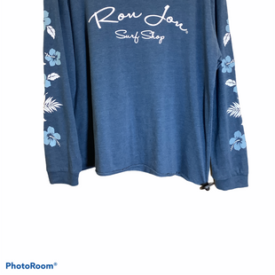 Primary Photo - BRAND:    CLOTHES MENTOR STYLE: TOP LONG SLEEVE COLOR: BLUE SIZE: XL OTHER INFO: RON JON - SKU: 256-25661-9467