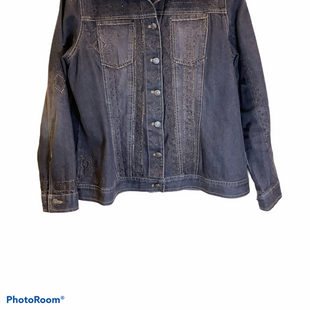 Primary Photo - BRAND: LAURA ASHLEY STYLE: JACKET OUTDOOR COLOR: DENIM SIZE: M SKU: 256-25611-40131