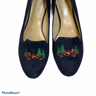 Primary Photo - BRAND: TALBOTS STYLE: SHOES LOW HEEL COLOR: NAVY SIZE: 6.5 OTHER INFO: NEW! SKU: 256-25673-10487
