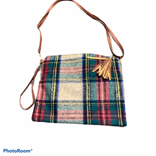 Primary Photo - BRAND:    CLOTHES MENTOR STYLE: HANDBAG COLOR: PLAID SIZE: SMALL OTHER INFO: LIB NEW YORK - SKU: 256-25612-64911