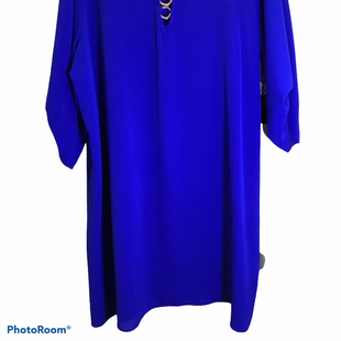 Primary Photo - BRAND:    CLOTHES MENTOR STYLE: DRESS SHORT LONG SLEEVE COLOR: ROYAL BLUE SIZE: 3X OTHER INFO: WISHFUL - NEW! SKU: 256-25661-15425