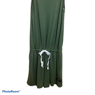 Primary Photo - BRAND: TIME AND TRU STYLE: DRESS SHORT SLEEVELESS COLOR: GREEN SIZE: M OTHER INFO: ROMPER SKU: 256-25678-4931
