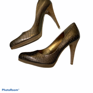 Primary Photo - BRAND: NINE WEST SHOES STYLE: SHOES HIGH HEEL COLOR: BRONZE SIZE: 10 SKU: 256-25653-10117