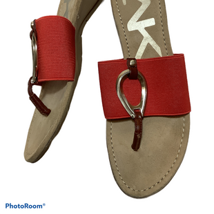 Primary Photo - BRAND: ANNE KLEIN STYLE: SANDALS FLAT COLOR: ORANGE SIZE: 7 SKU: 256-25612-66160