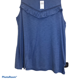 Primary Photo - BRAND: GAP STYLE: TOP SLEEVELESS COLOR: BLUE SIZE: L OTHER INFO: NEW! SKU: 256-25661-11788