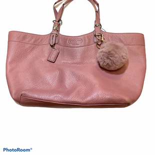Primary Photo - BRAND: COACH O STYLE: HANDBAG DESIGNER COLOR: PINK SIZE: MEDIUM OTHER INFO: AS IS SEE CORNERS SKU: 256-25647-11071