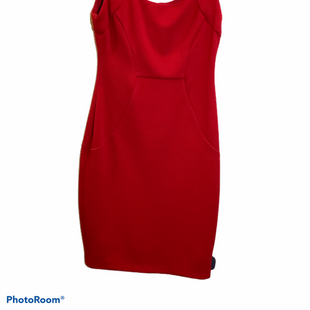 Primary Photo - BRAND: BISOU BISOU STYLE: DRESS SHORT SLEEVELESS COLOR: RED SIZE: M SKU: 256-25612-57280