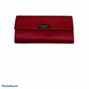 Primary Photo - BRAND: KATE SPADE STYLE: WALLET COLOR: RED SIZE: MEDIUM OTHER INFO: DESIGNER SKU: 256-25612-66842