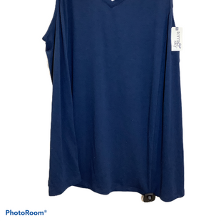 Primary Photo - BRAND: TERRA & SKY STYLE: TOP SLEEVELESS COLOR: NAVY SIZE: 2X OTHER INFO: NEW! SKU: 256-25661-12545