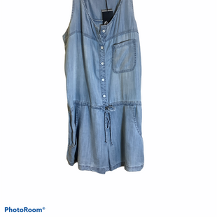 Primary Photo - BRAND: RAILS STYLE: DRESS SHORT SLEEVELESS COLOR: BLUE SIZE: L OTHER INFO: ROMPER SKU: 256-25612-66485