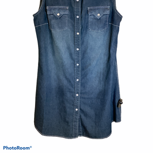 Primary Photo - BRAND:    CLOTHES MENTOR STYLE: DRESS SHORT SLEEVELESS COLOR: DENIM SIZE: L OTHER INFO: COWGIRL JUSTICE - SKU: 256-25661-10428