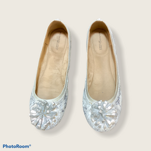 Primary Photo - BRAND: BANDOLINO STYLE: SHOES FLATS COLOR: SILVER SIZE: 9.5 SKU: 256-25661-14720