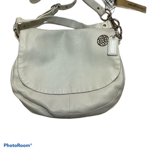 Primary Photo - BRAND: COACH STYLE: HANDBAG DESIGNER COLOR: WHITE SIZE: LARGE SKU: 256-25612-65758