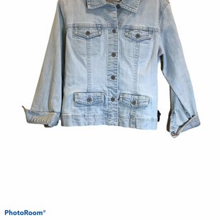 Primary Photo - BRAND: CHICOS O STYLE: JACKET OUTDOOR COLOR: DENIM SIZE: L SKU: 256-25611-40132