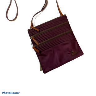 Primary Photo - BRAND: DOONEY AND BOURKE STYLE: HANDBAG DESIGNER COLOR: PURPLE SIZE: SMALL SKU: 256-25612-64910