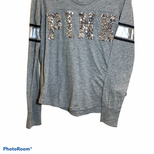 Primary Photo - BRAND: PINK STYLE: TOP LONG SLEEVE COLOR: GREY SIZE: M SKU: 256-25612-58545