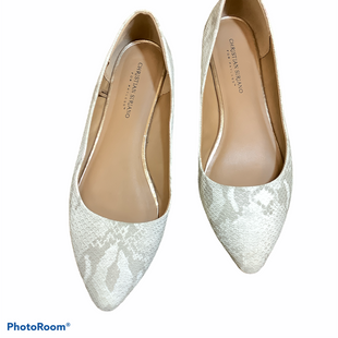 Primary Photo - BRAND: CHRISTIAN SIRIANO FOR PAYLESS STYLE: SHOES FLATS COLOR: CREAM SIZE: 11 SKU: 256-25647-11010