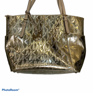 Primary Photo - BRAND: MICHAEL KORS STYLE: HANDBAG DESIGNER COLOR: GOLD SIZE: LARGE SKU: 256-25612-65150