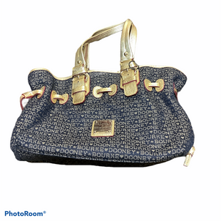 Primary Photo - BRAND: DOONEY AND BOURKE STYLE: HANDBAG DESIGNER COLOR: NAVY SIZE: MEDIUM SKU: 256-25612-66839