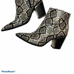 Primary Photo - BRAND: CIRCUS BY SAM EDELMAN STYLE: BOOTS ANKLE COLOR: SNAKESKIN PRINT SIZE: 7.5 SKU: 256-25661-16273