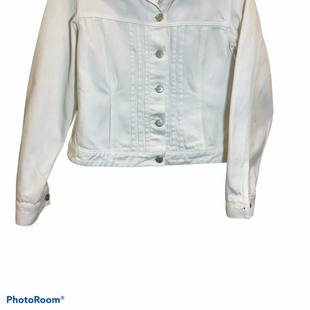 Primary Photo - BRAND: ANN TAYLOR STYLE: JACKET OUTDOOR COLOR: WHITE SIZE: S SKU: 256-25673-10851