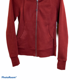 Primary Photo - BRAND: LULULEMON STYLE: ATHLETIC JACKET COLOR: BROWN SIZE: S SKU: 256-25612-63788