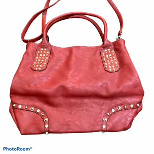 Primary Photo - BRAND:    CLOTHES MENTOR STYLE: HANDBAG COLOR: RED SIZE: LARGE SKU: 256-25612-64058